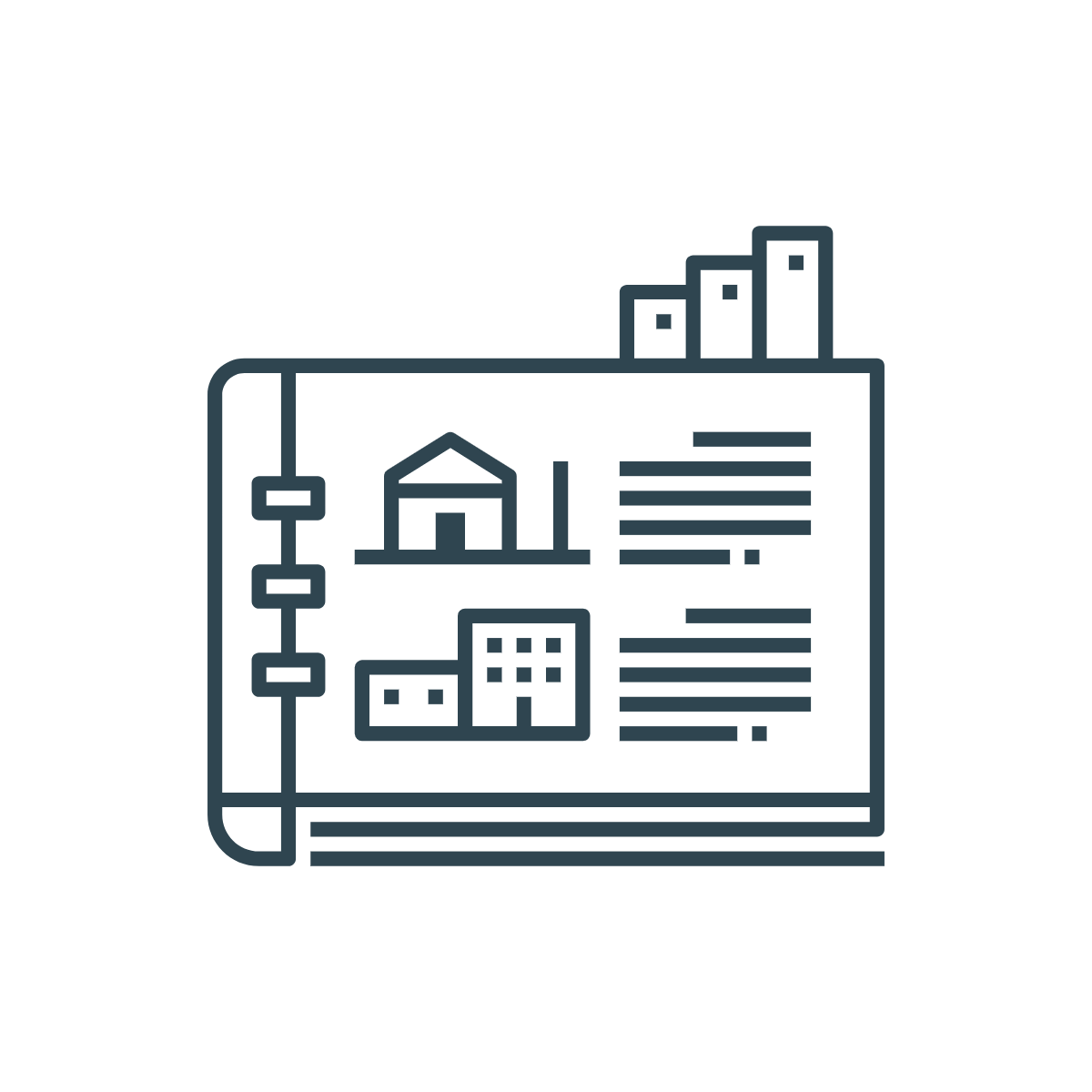 icon of a property catalog